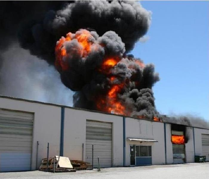 Commercial Workplace Fire Damage